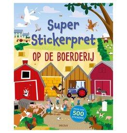 Deltas Super stickerboek Boerderij