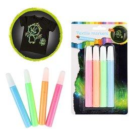 Deltas Textile Marker Neon