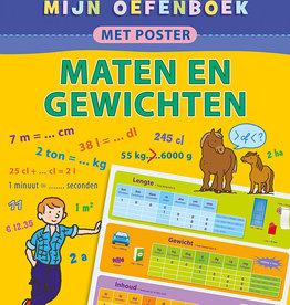 Deltas oefenboek met poster Maten & Gewichten 9-11