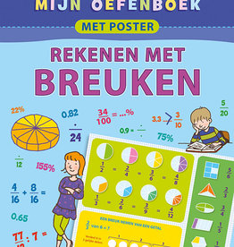 Deltas Oefenboek met poster Breuken 9-11
