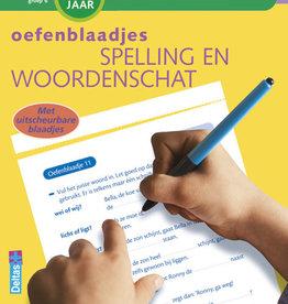 Deltas Oefenblaadjes spelling & woordenschat 9-10