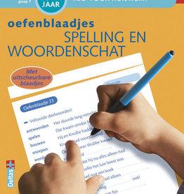 Deltas Oefenblaadjes spelling & woordenschat 10-11