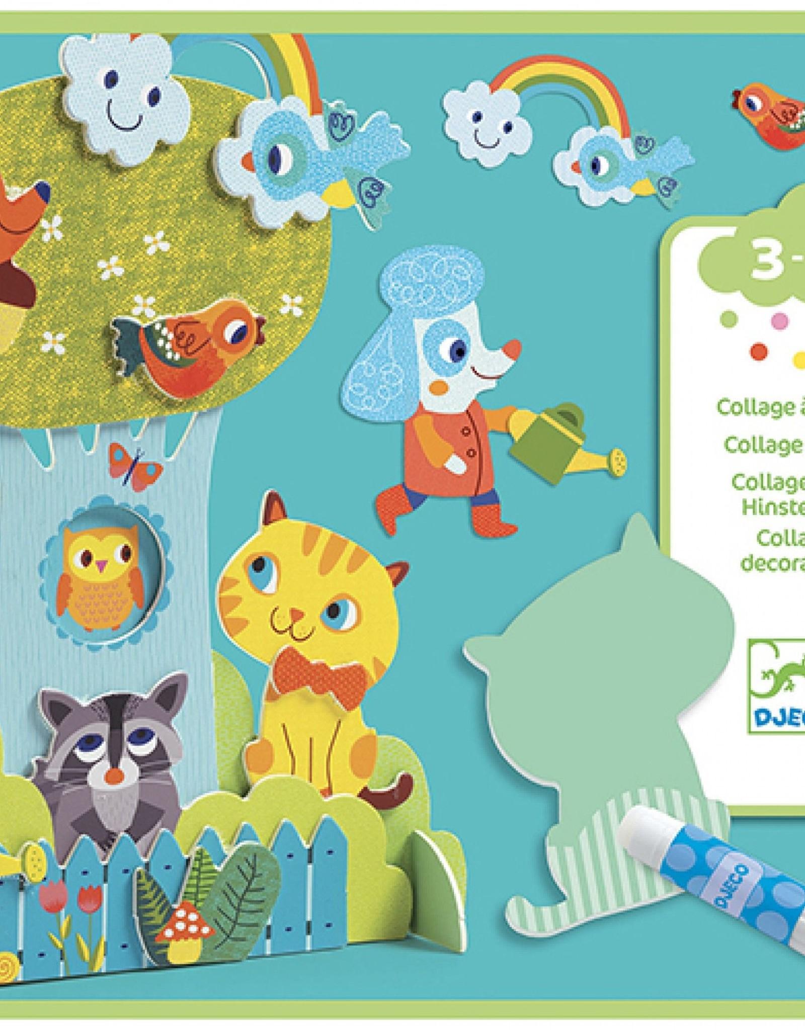 Djeco Collage Dierenvrienden