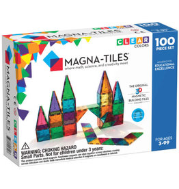 MagnaTiles Clear Colors 100