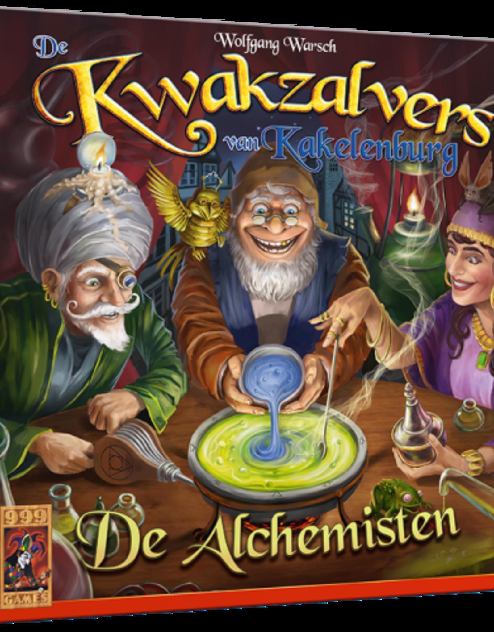 999 Games Kwakzalvers: Alchemisten