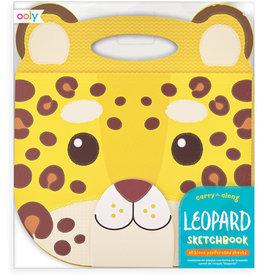 Ooly Schetsboek Luipaard