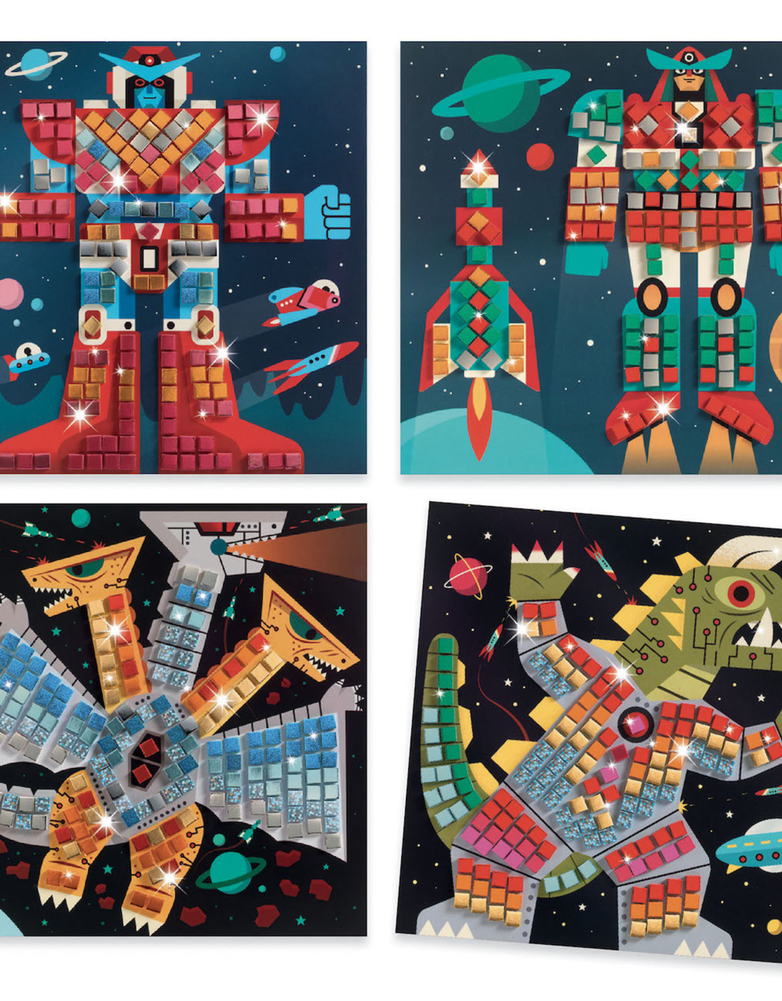 Djeco Mozaik Space Battle