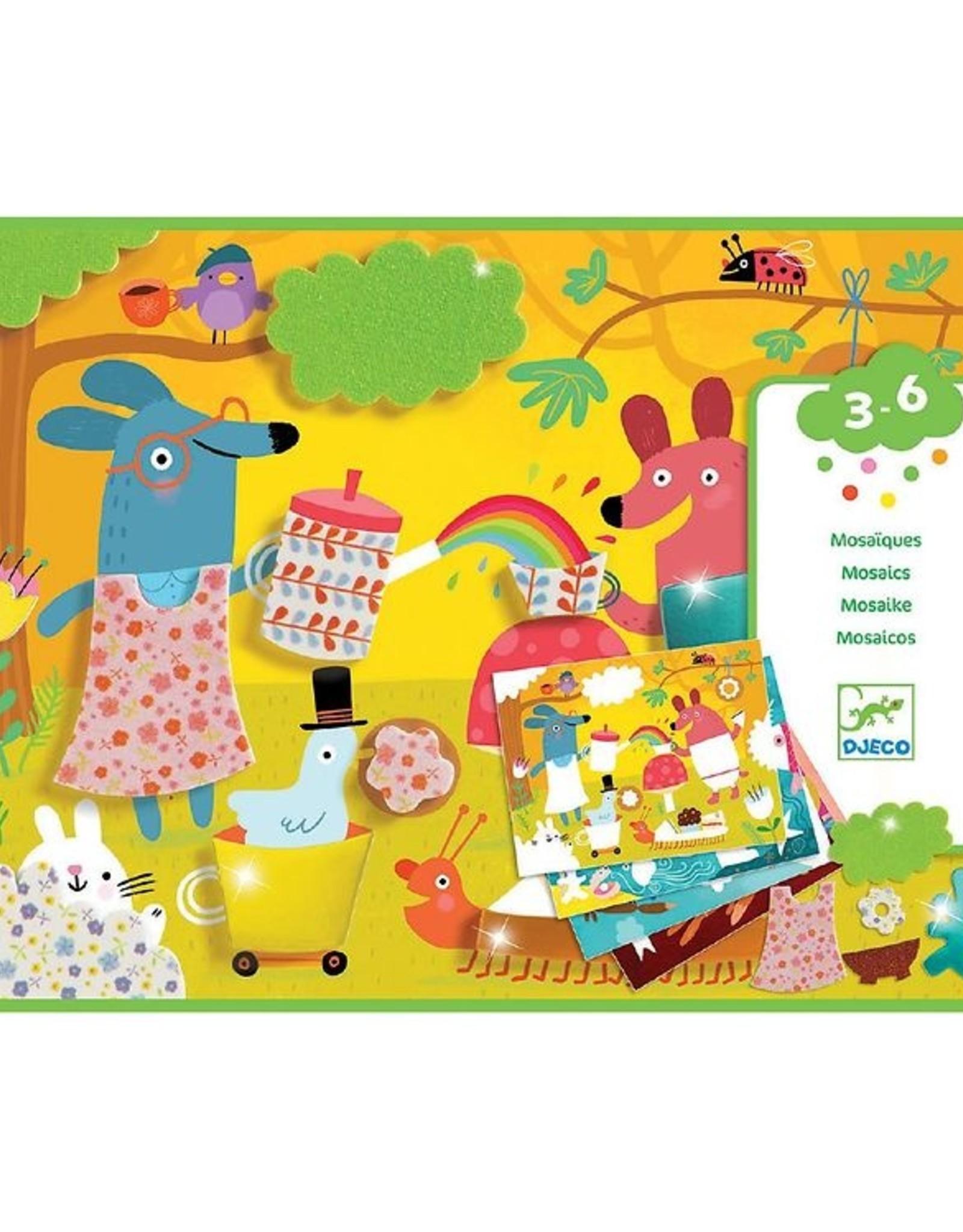 Djeco Mozaiek met dieren