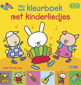 Deltas Kleurboek met kinderliedjes