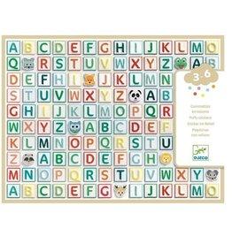 Djeco Stickers ABC