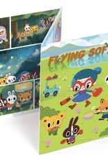 Djeco Creëer Stripboek Flying Sofye