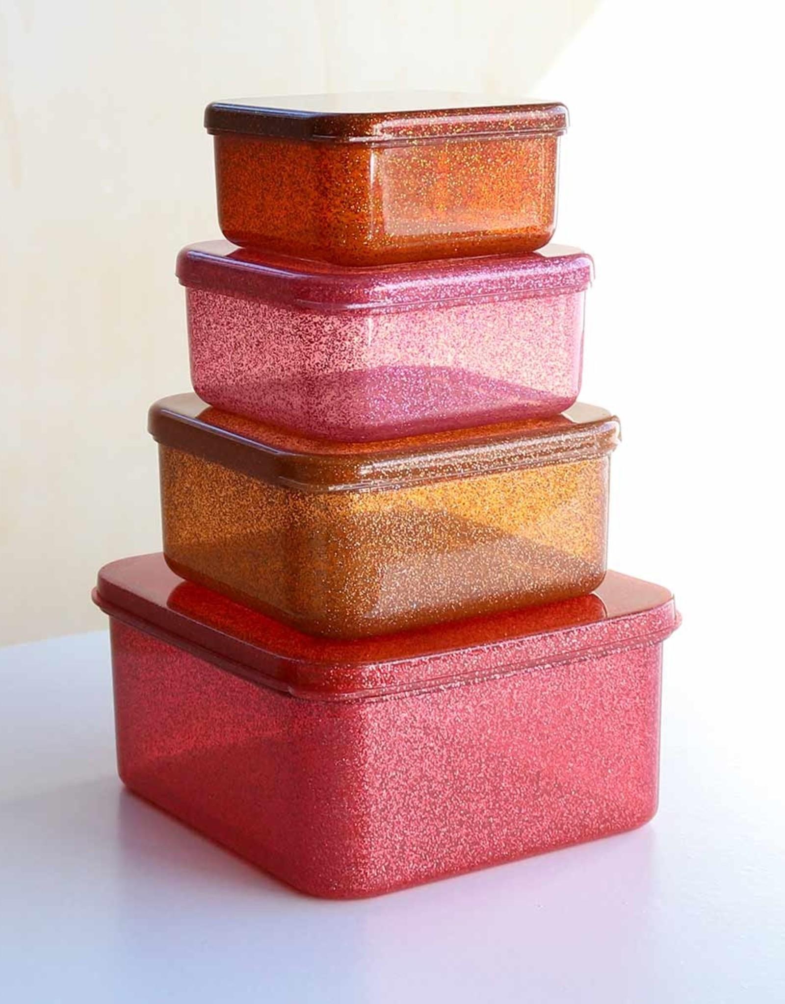 ALLC Lunch- Snackbox Roze Glitter