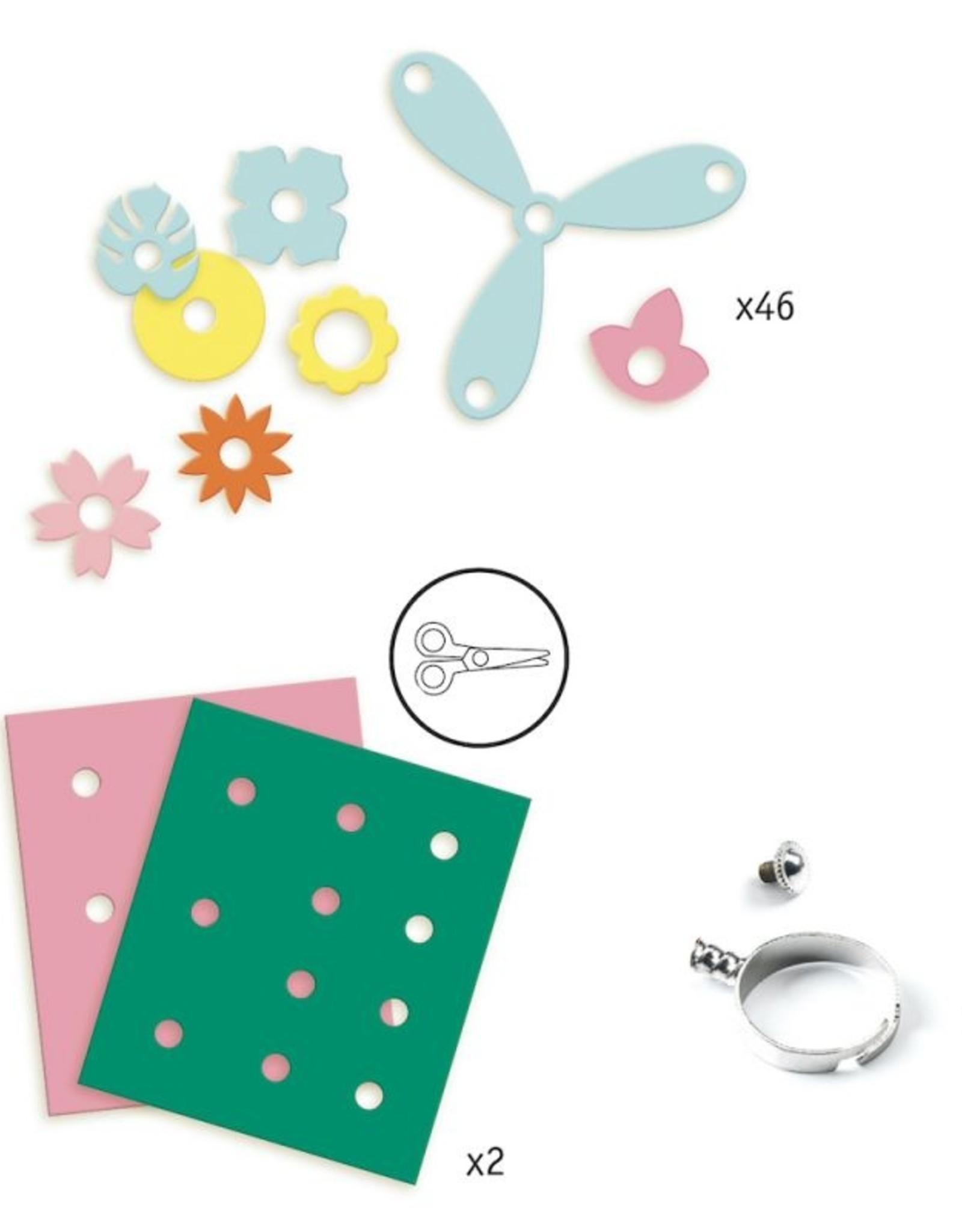 Djeco Artistic Plastic Ring Maken