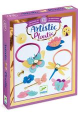 Djeco Artistic Plastic Haarelastiekjes
