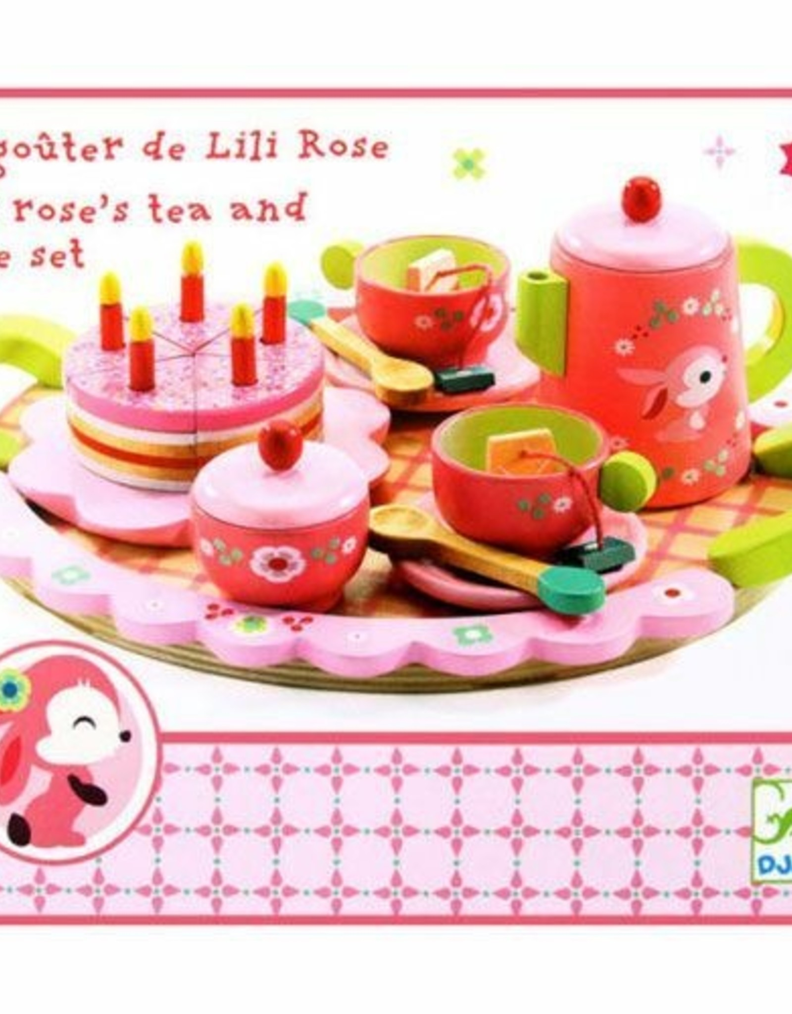Djeco Lily Rose Theeset