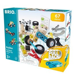 Brio Builder Pull Back Motor Set