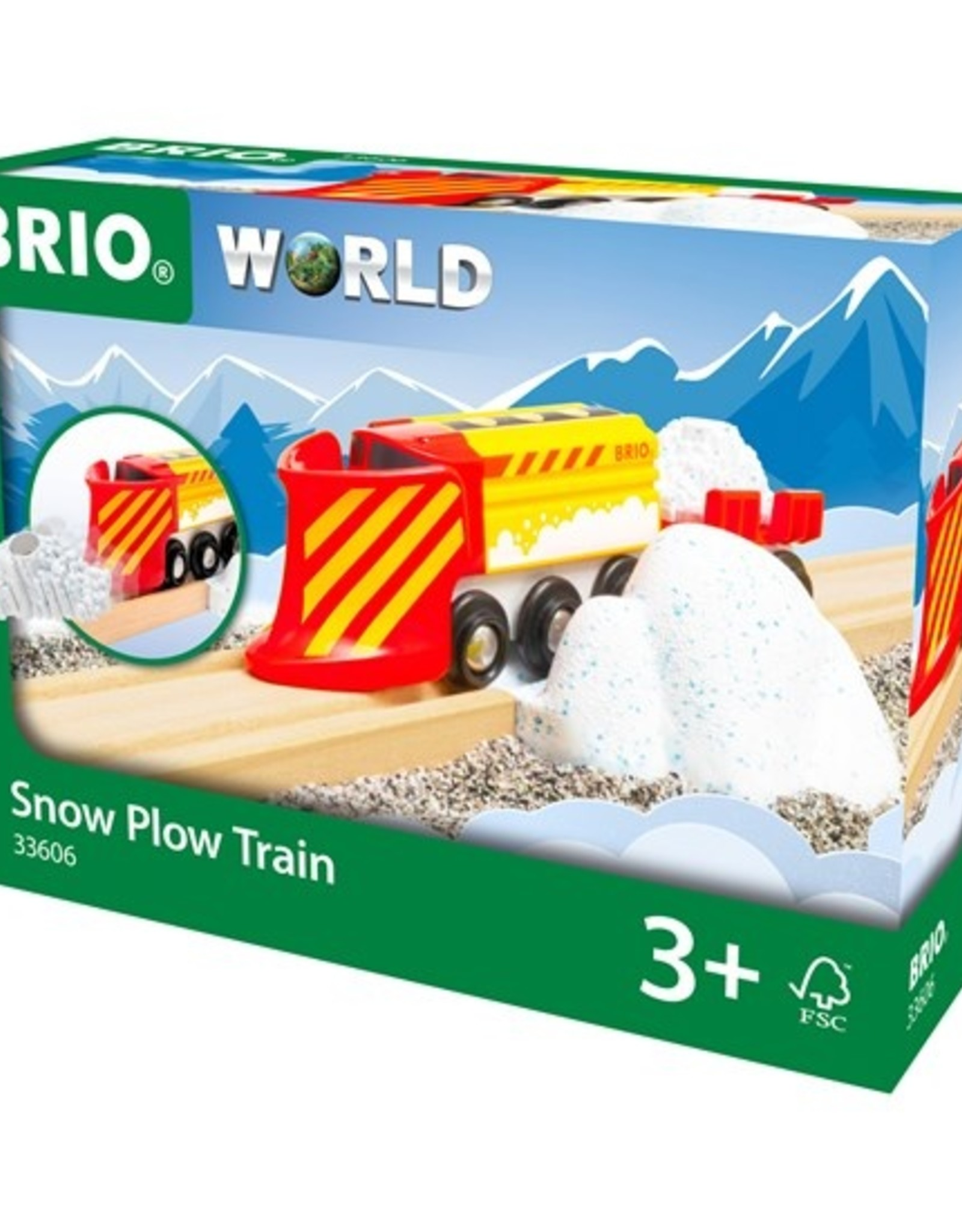 Brio Sneeuwschuivertrein