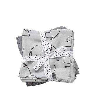 Done by Deer Swaddle 2 pack grey
