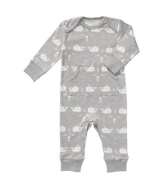 Fresk Pyjama zonder voet Whale dawn grey