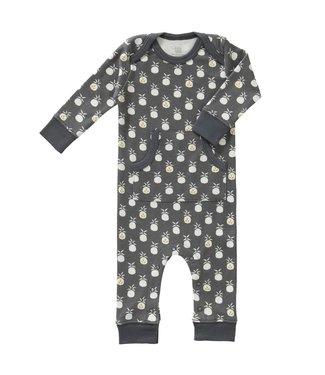 Fresk Pyjama zonder voet Pineapple antraciet