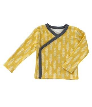Fresk Wikkelvestje Havre vintage yellow
