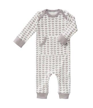 Fresk Pyjama zonder voet Leaves grey