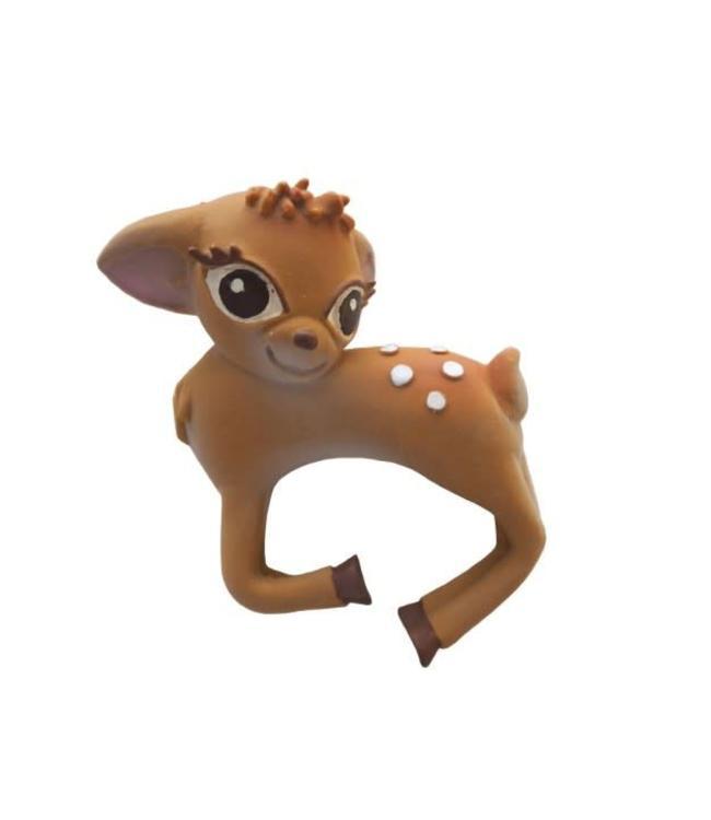 Oli&Carol Bad en bijtspeeltje armband bambi