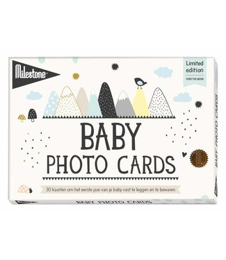 Milestone™ Milestone™ Baby Photo Cards - Over the Moon