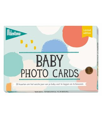 Milestone™ Milestone™ Baby Photo Cards - Cotton Candy