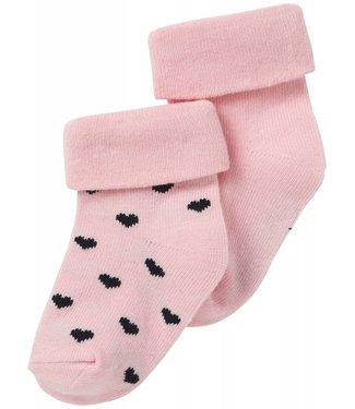 Noppies Socks 2pck Naples Rose
