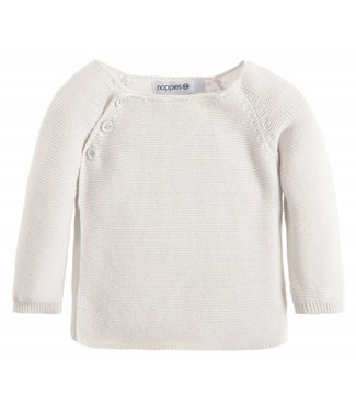 Noppies Cardigan Knit ls Pino White
