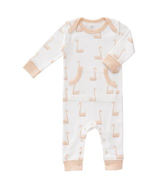 Fresk Pyjama zonder voet Swan pale peach