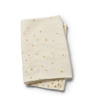 Elodie Details Gebreid deken Gold Shimmer