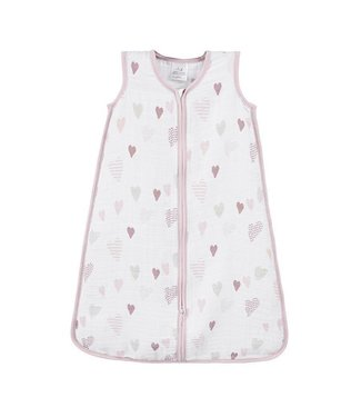 Aden + Anais Sleeping Bag Hart dots