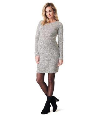 Noppies Dress ls Heather Off White