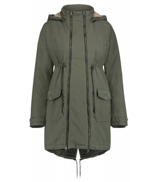 Noppies Jacket Malin 2-way Army