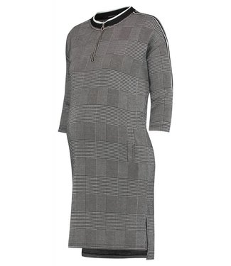 Supermom Supermom dress 3/4 slv Check