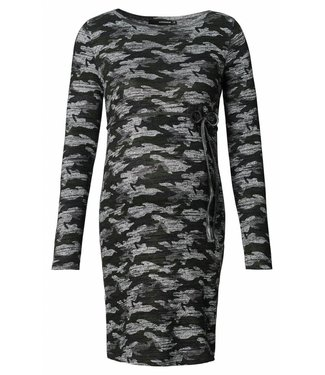 Supermom Dress ls Knit Camo