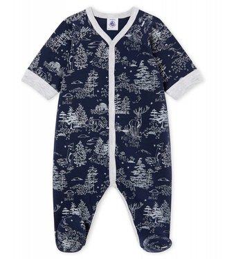 Petit Bateau Pyjama voor babyjongens forrest