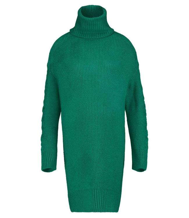 Supermom Dress ls Knit Green
