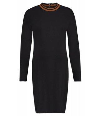 Supermom Dress ls Black Turtle