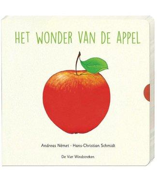 Het wonder van de appel -schuif- en flapboek-