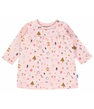 Imps&Elfs Dress Long Sleeve Pale Pink