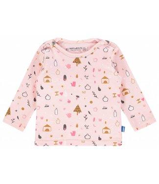 Imps&Elfs T-Shirt Long Sleeve PalePink AOP