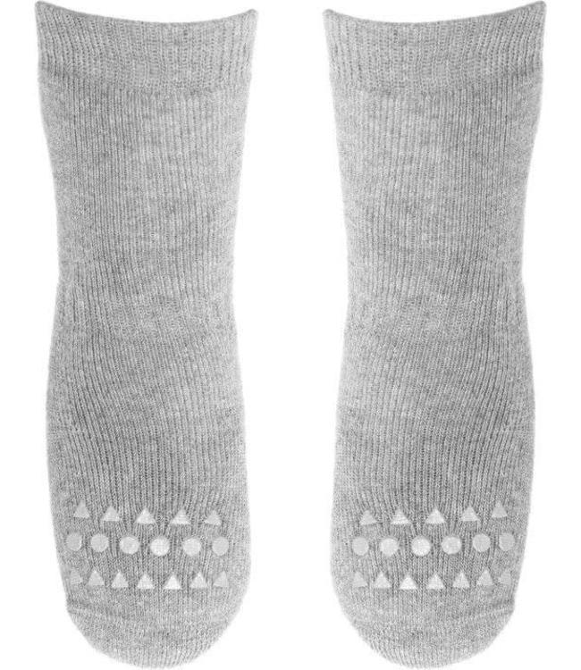GObabyGO Socks Grey Melange