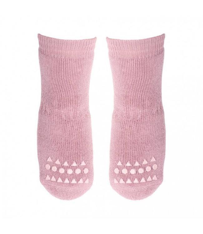 GObabyGO Socks Dusty Rose