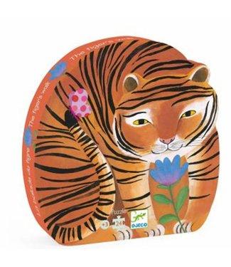 Djeco Puzzel tijger