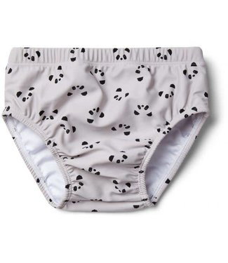 Liewood Frej baby boy swim pants Panda dumbo grey
