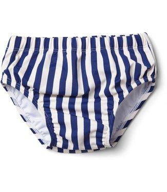 Liewood Frej baby boy swim pants Stripe: Navy