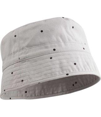 Liewood Jack bucket hat Classic dot dumbo grey